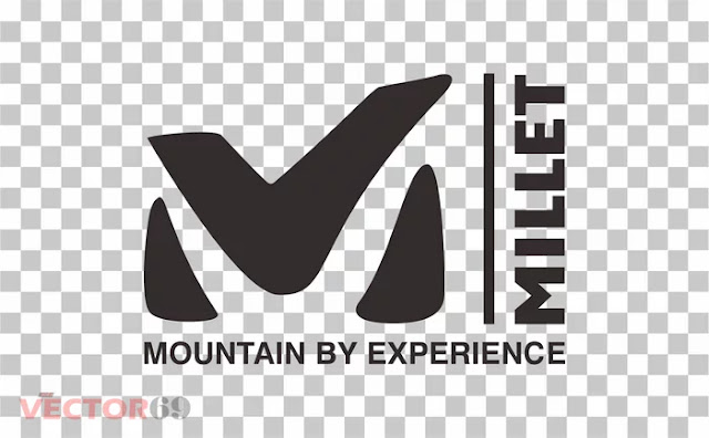 Millet Mountain Logo - Download Vector File PNG (Portable Network Graphics)