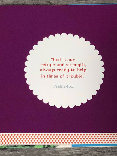 Bible Verse - Psalm 46:1 - God is our refuge and strength.