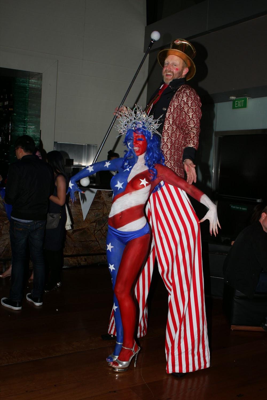 Roving Performers Australia Human Statue Bodyart Has
