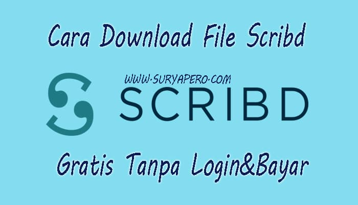 cara download file scribd