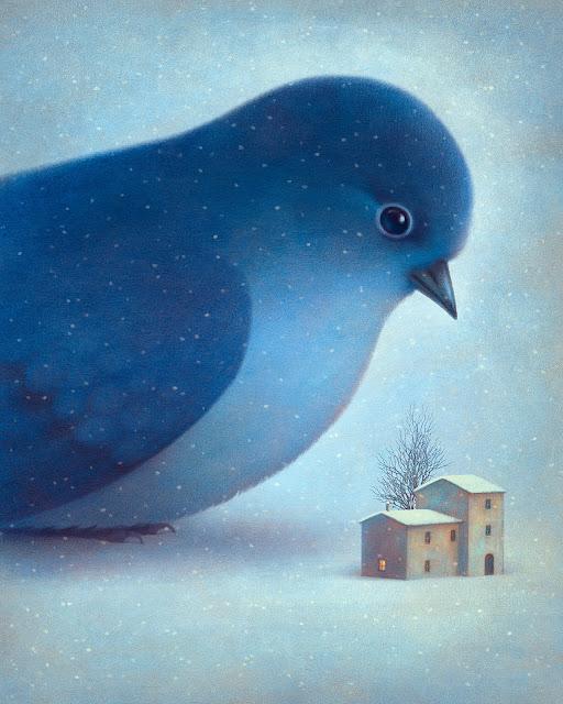 l'inverno blu