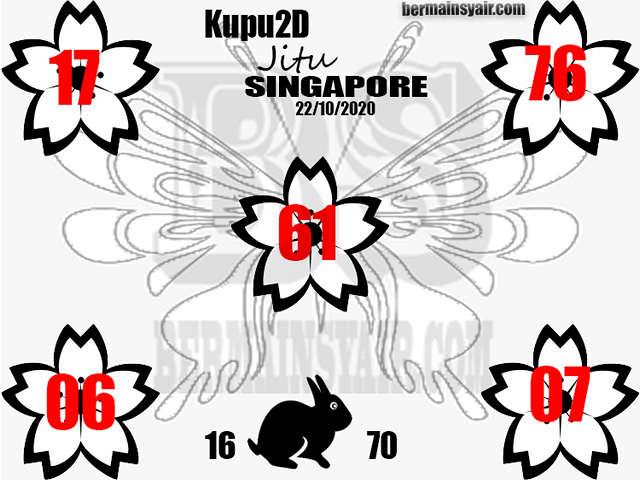 Kode syair Singapore Kamis 22 Oktober 2020 247