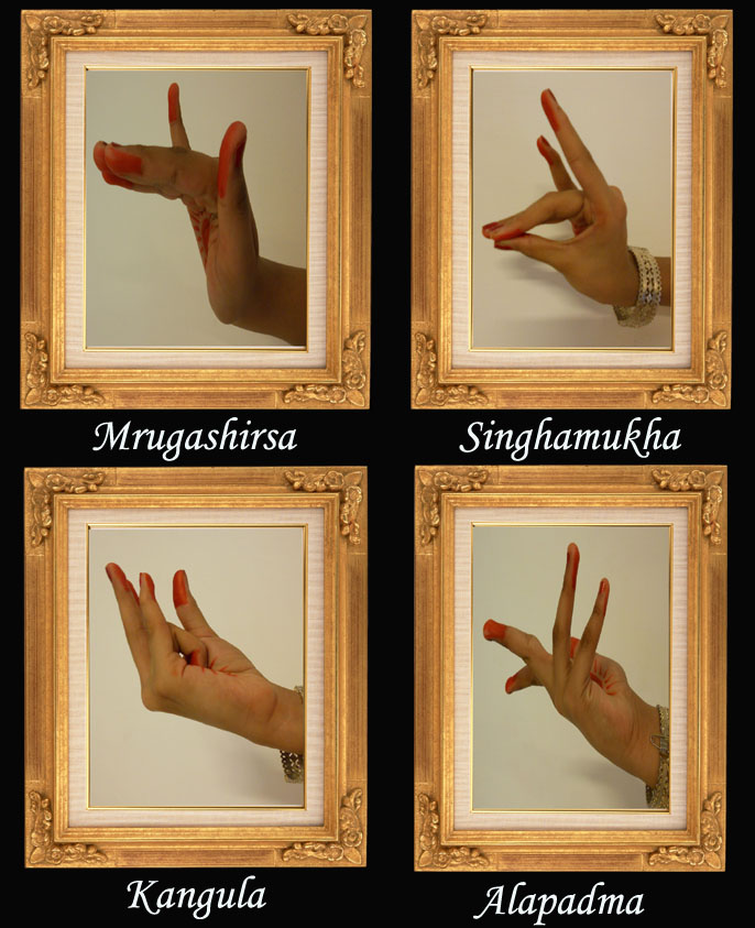 ODISSI HASTA MUDRA -(Hands Gesture for Classical Dance