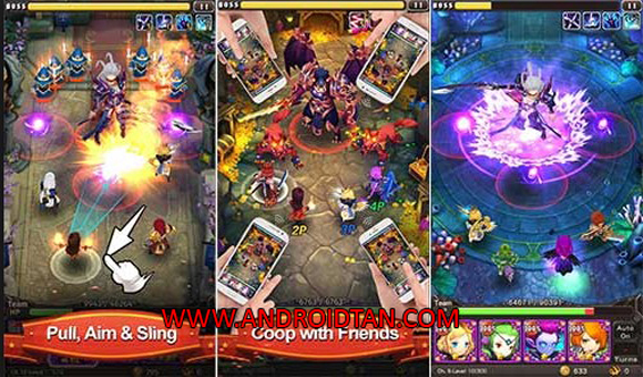 Hyper Heroes Marble-Like RPG Mod Apk for Android