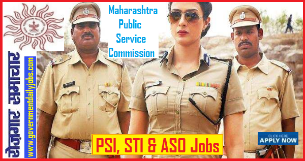 MPSC Recruitment 2019, 555 PSI, STI and ASO Vacancies, Apply online