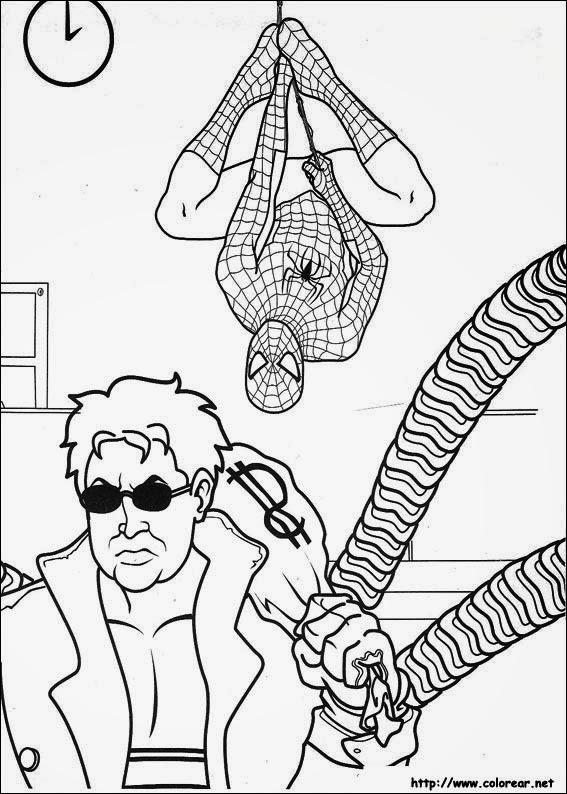 Casinha De Crianca Desenhos Para Colorir Homem Aranha