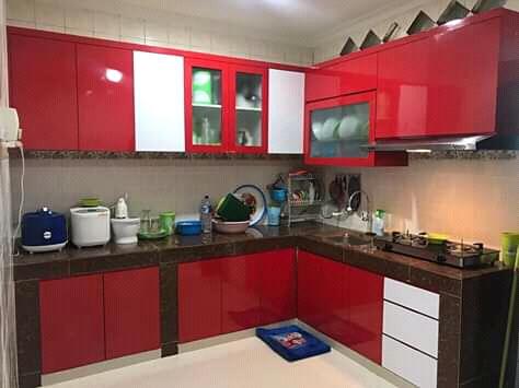 Kitchen Set Design Modern Di Subang