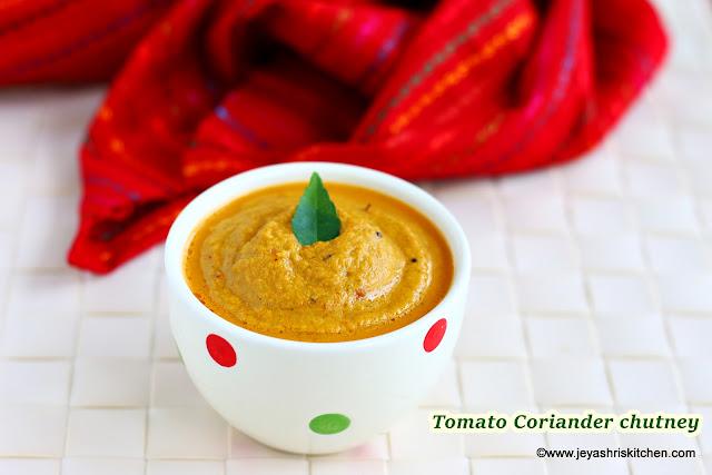 Tomato Coriander chuntey