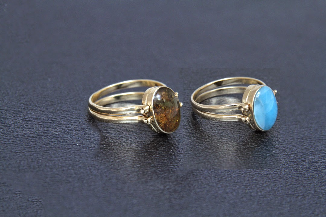 Larimar Jewelry And Crafts We Finally Made It With 14k Gold