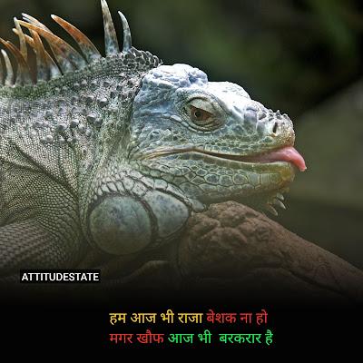 Attitude Status In Hindi (May) टॉप