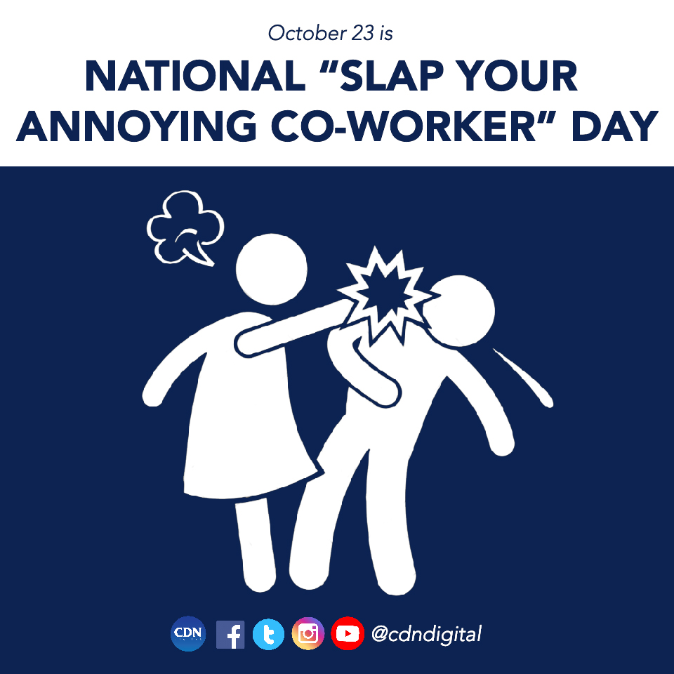 Slap Your Annoying Coworker Day Wishes Images