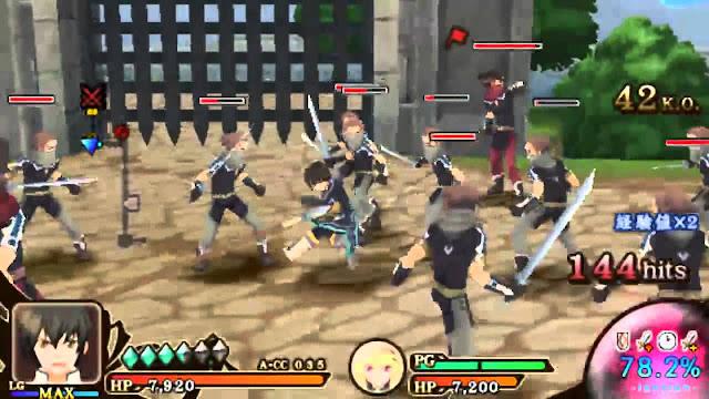 Tales of Heroes: Twin Brave screenshot 2