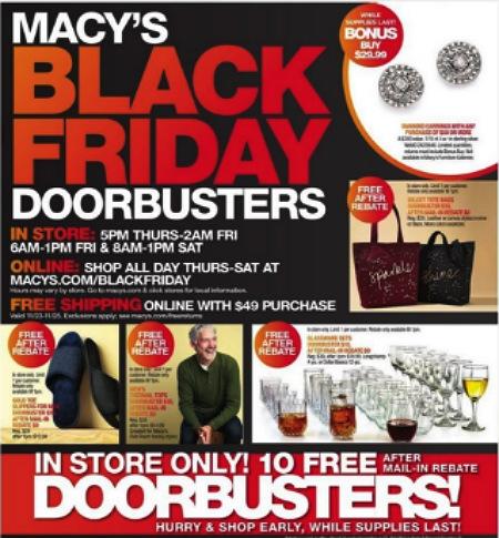 Macy's Black Friday 2017 Ad