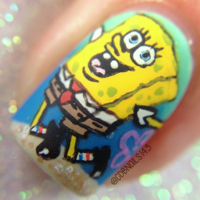 CDB Nails-Spongebob Nails