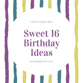 sweet 16 birthday