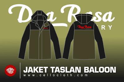 Bikin Jaket Dua Rasa Taslan Baloon Waterproof - Jacket Custom Jogja