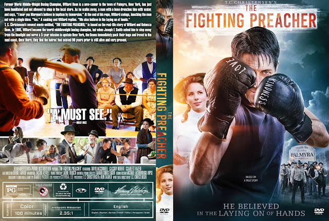 The Fighting Preacher  DVD Cover