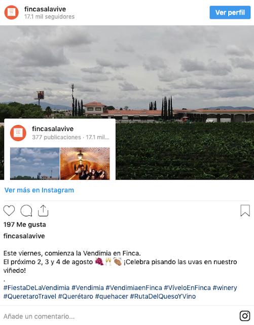 La mejor temporada para visitar Freixenet en Querétaro