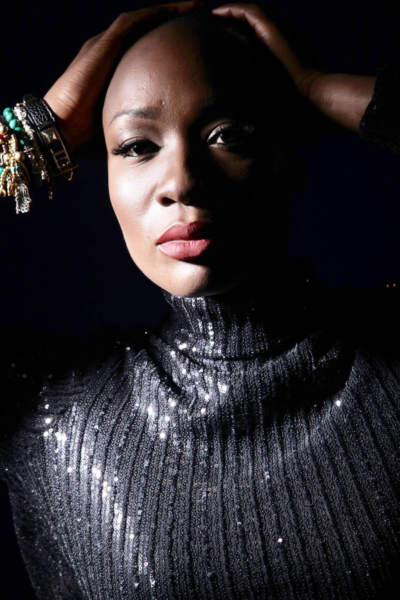 Bald Black Woman