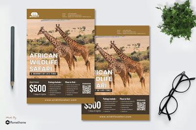 Contoh brosur wisata alam