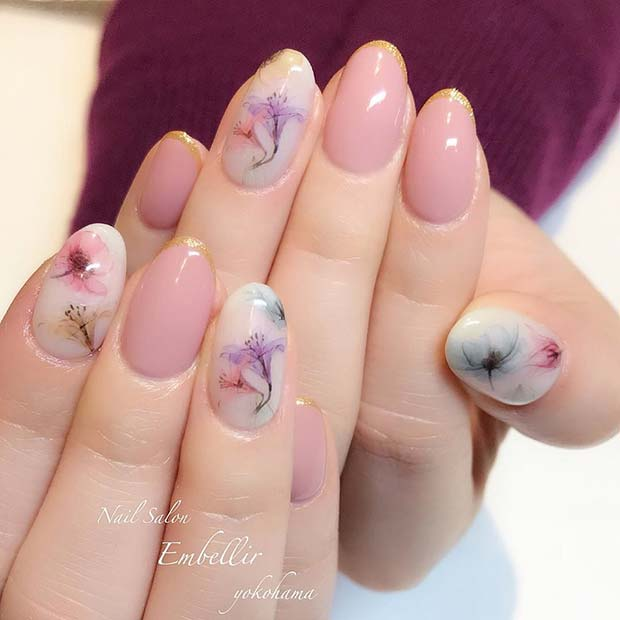 Stunning Summer Floral Nail Art Designs Ideas For Classy Teens To ...