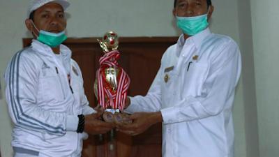 PS Pasbar Juara 3  dalam Turnamen Victory Kompetition football di Payakumbuh
