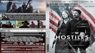 CARATULA COVER [4K-UHD] HOSTINES 2017 [COVER ULTRA HD ]