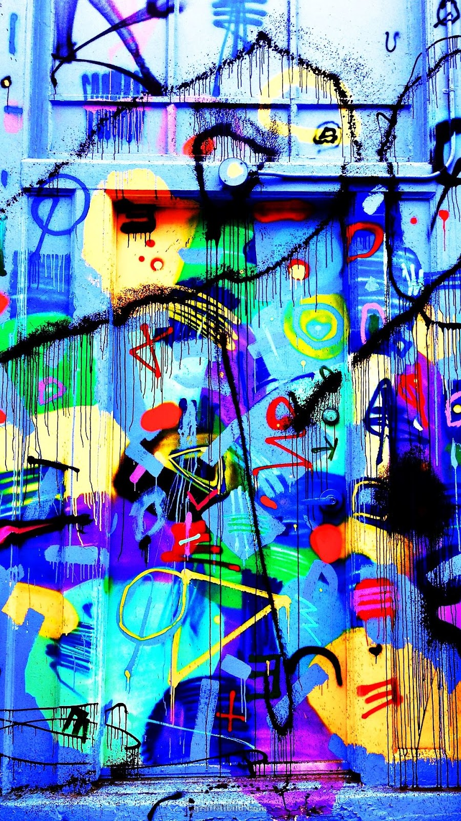 Graffiti wallpapers for mobile, android, iphone