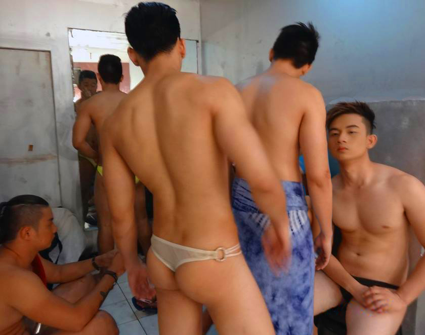 Pinoy And Asian Male Model Pinoy Bikini Boys Preparing-7159