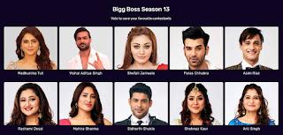 Bigg Boss13 Voting