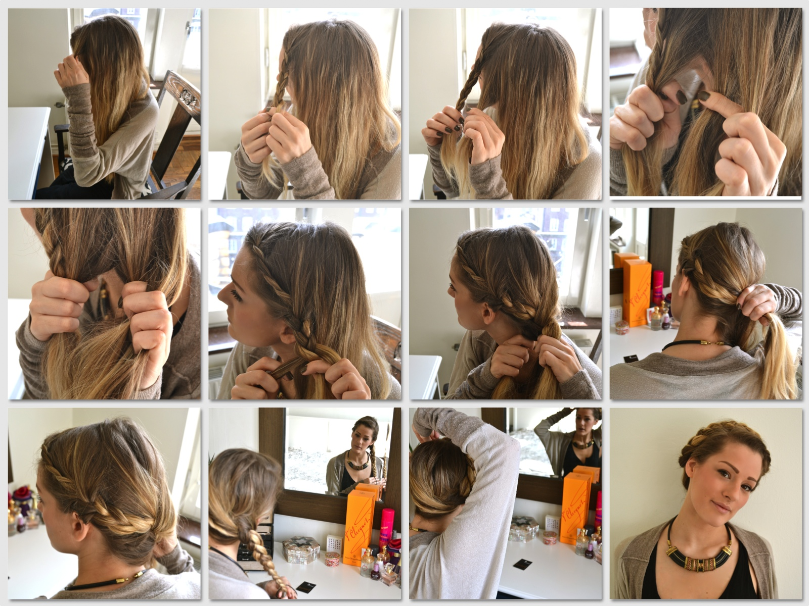 Cute Long Haircuts With Side Bangs And Layers The 3 Braid Wrap Around