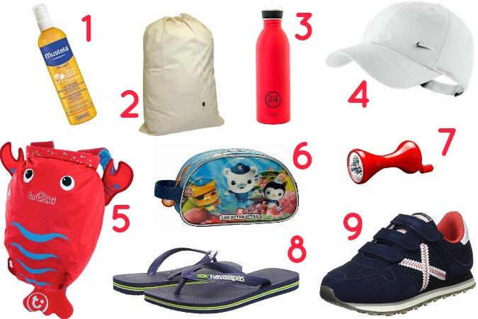 Imprescindibles en la maleta para el campamento de verano