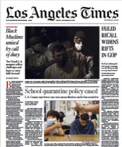 Los Angeles Times Magazine 17 September 2021