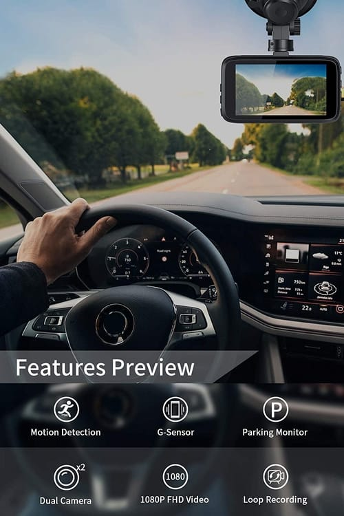 Review Milerong FHD Dash Camera for Cars