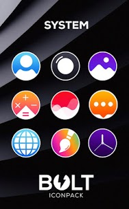BOLT Icon Pack v2.3 [Patched] Apk