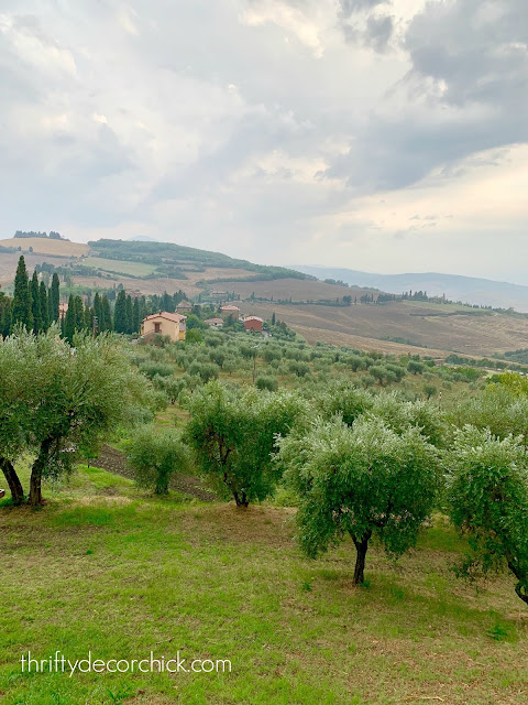 Italy views in Tuscany