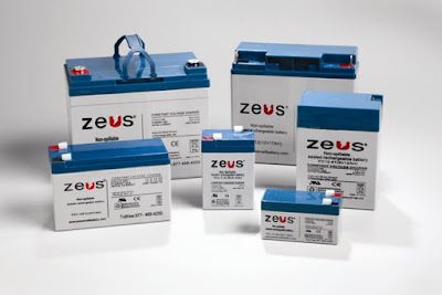 sealed lead acid batteries of different capacities