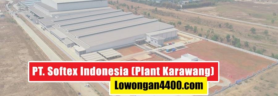 Lowongan Kerja PT. Softex Indonesia KIIC Karawang