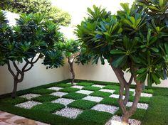 تنسيق حدائق المنزل شركة تزين حدائق خميس مشيط وأبها