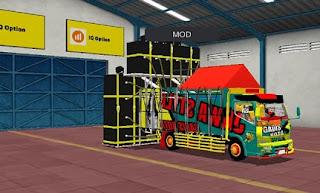 Mod truk muat sound sistem