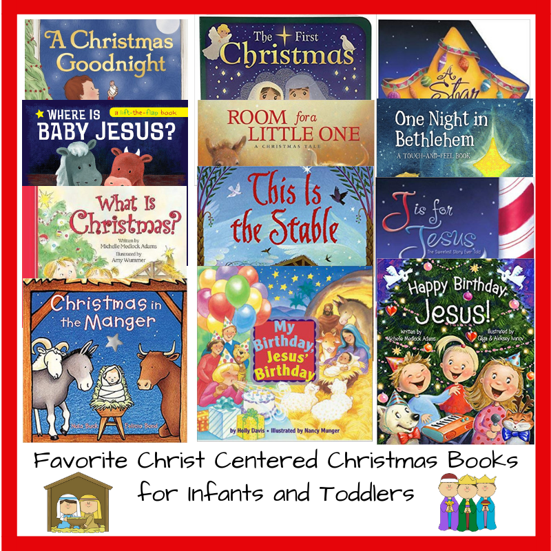 Clubbhouse Kids Christ Centered Christmas Books For Infants And