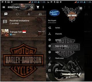 BBM Mod Harley Davidson