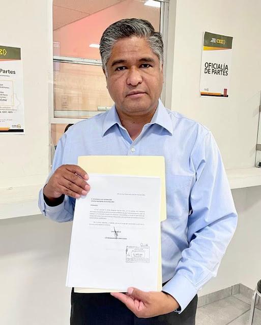 Víctor Fuentes renuncia a la candidatura de la coalición Juntos Haremos Historia en Monterrey