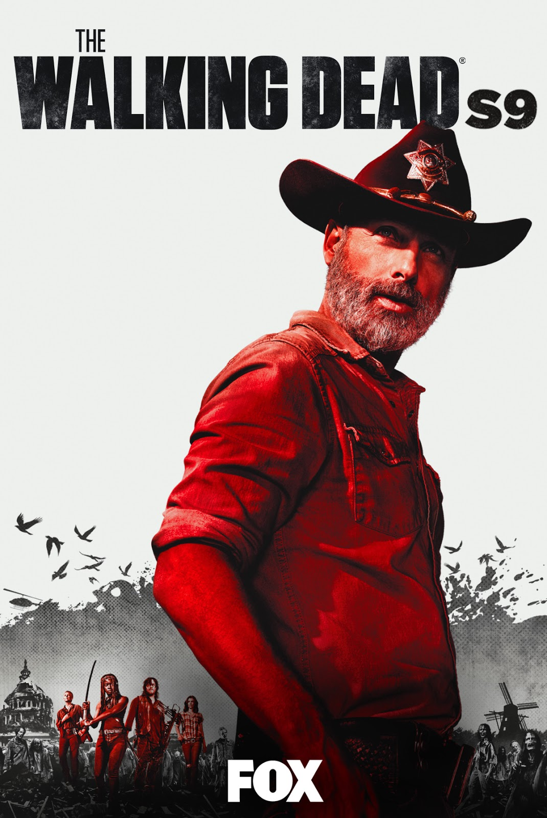 The Walking Dead [Season 9] [2019] [DVDR] [R1] [NTSC] [Latino] [5 DISC]