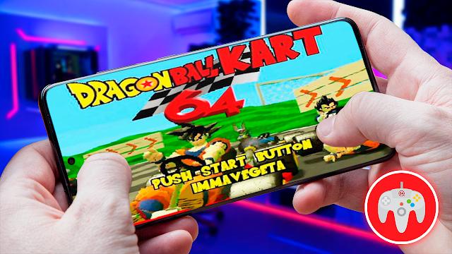 Mario Kart 64 (Mod Dragon Ball) Para Teléfonos Android [ROM N64]