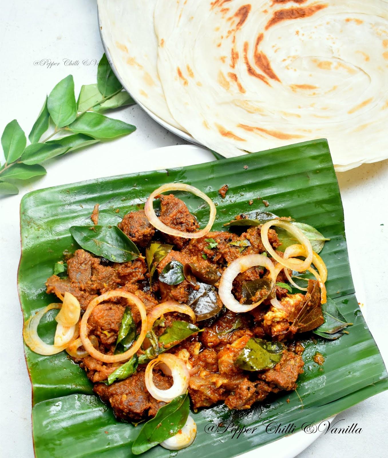 easy kerala style mutton sukka