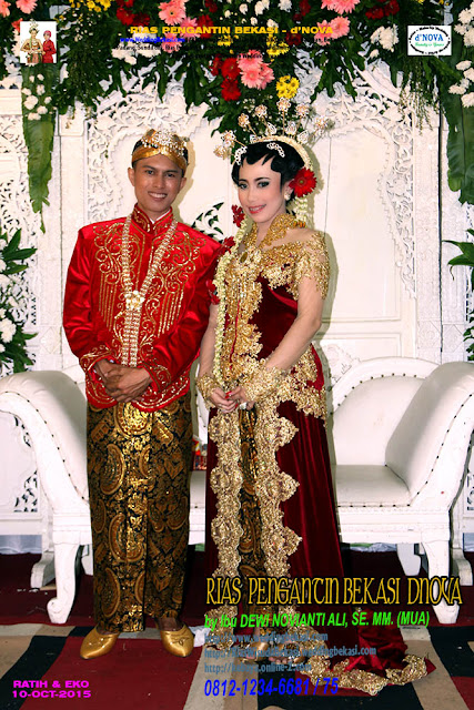 Rias Pengantin SOLO PUTRI - Sanggar Make Up Rias Pengantin Bekasi dNova Bekasi Utara - Ratih & Eko (3)