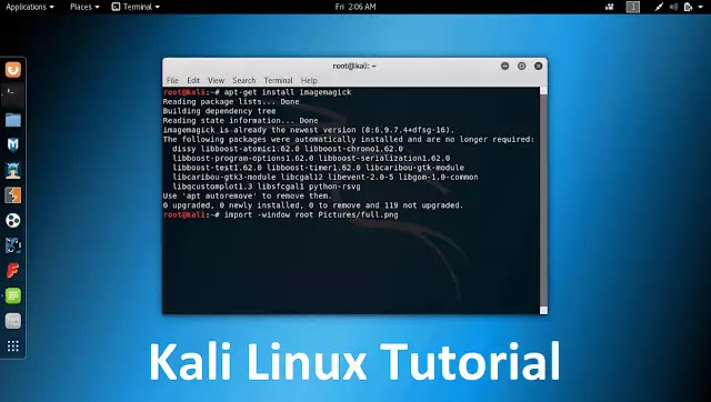 Kali Linux Tutorial For Beginners Download free Course