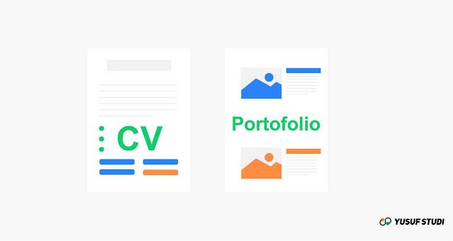 cv dan portofolio beasiswa