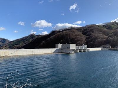 展望所から見た八ッ場ダム